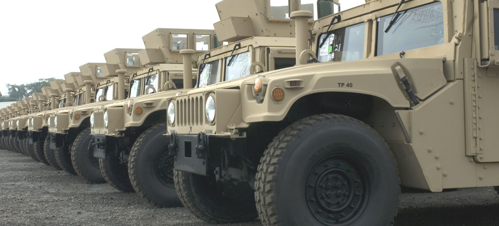 Engines - Military Humvee - Hummer Engines, Tires, And Rims