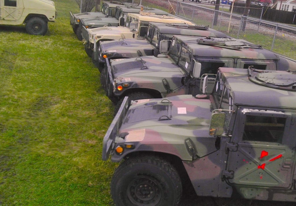 Military Humvee Hummer Engines Tires Rims for Sales, 12,000 demilitarized vehicles